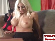 Puma Swede with hottest ass masturbating in high def