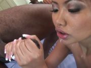 Bangin\' Asian Babe Takes Bbc All In Her Ass