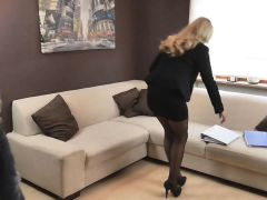 Naughty-hotties.net - Office Outfit Intern Quickie - Load On