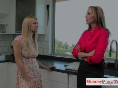 Mature Mom Triofucks And Cumswaps With Teen