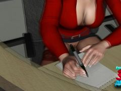 3d-animated office overtime fuckdrive