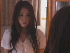 Hot Asian Chick Gave Blowjob To Her Father At Home