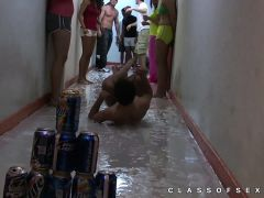 Real footage of college sex party