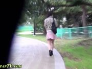 Asian pisses standing up