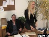Alana Evans Plays With Herself While Fucked Hard On The Desk