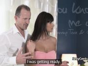 Hot housewife banged and creampied