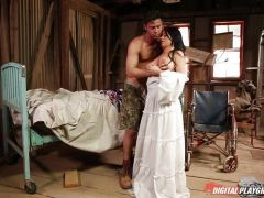 Rachele Richey Pussy whipped in wedding dress