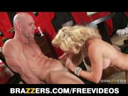 Brazzers - Big booty blonde is fucked rough