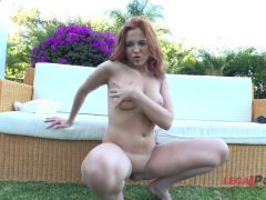 Shania Flame First Anal
