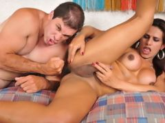 Paulo Marks Plows Tranny Jade Oliveira In The Ass