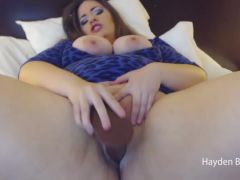 Riding and Fucking My BBC Dildo by Hayden Blue
