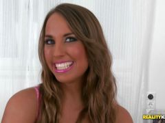 Jenette short on cash pays rent in a sexual way