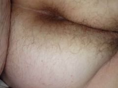 hidden shot of her hairy asshole & hairy pussy