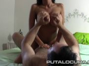 PUTA LOCURA Sexy Czech girl with big tits fucked by Torbe
